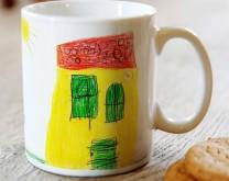 Moje malo remek djelo - šalica personalizirana s crtežom vašeg djeteta