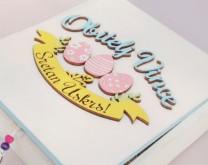 Zekina obitelj - Uskrsna kutija sa 6 personaliziranih privjesaka
