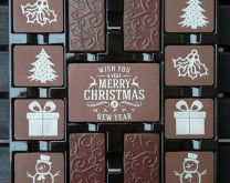 Sweet Christmas - bombonjera s božićnom porukom