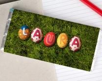 Uskršnja čestitka - Personalizirana čokolada