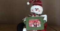 Snješko- platnena lutka personalizirana sa Vašom slikom