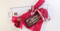 Loving You - Ruža i čokolada s Vašom porukom