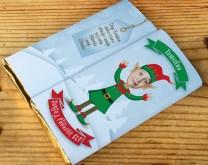 Santa's Favorite sELFy - personalizirana čokolada