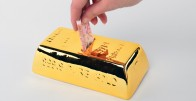 Zlatna poluga - dizajnerska kasica