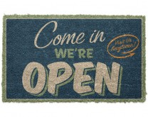 Come in we are open - Otirač za noge