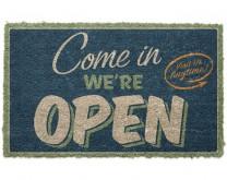 Come in we are open - Otirač za noge