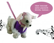 Razmažena by Rozga - Raspjevani plišani psić