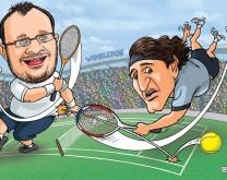 Karikatura 2 osobe, by Stiv Cinik