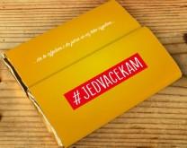 #JEDVACEKAM - personalizirana čokolada s tvojom porukom po želji