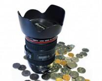 Fotoobjektiv - kasica prasica