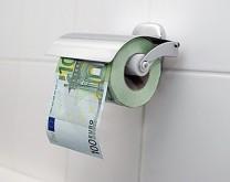 100 Eura - Toaletni papir