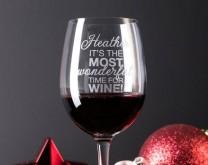 Let's Celebrate - XXL izgravirana čaša u koju stane boca vina 0,75l