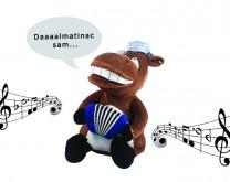 """Dalmatinac sam"" by Mladen Grdović - Raspjevani plišani konj"