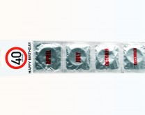 40 & sexy - Happy Birthday kondom