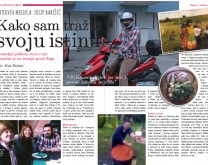Novinski članak o Vama + interview s novinarkom