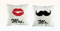 Mr + Mrs = Zaljubljeni jastuci za par