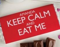 Keep Calm - personalizirana čokolada