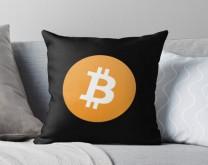 Bitcoin - Personalizirani jastuk s tiskom po želji