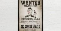 Wanted - Personalizirani poster