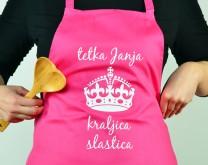Kraljica kuhinje - personalizirana pregača