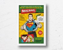 Superman - Personalizirani poster
