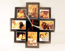 Čuvar sjećanja - drvenostakleni sat s 8 vaših slika