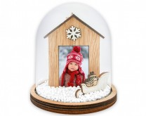 Snježna kugla s tvojom slikom