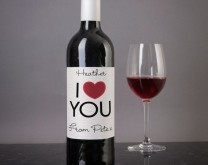 I <3 U - Personalizirano vino