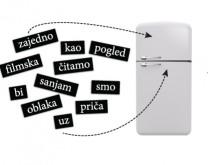 STIH I JA - 400 magneta riječi za frižider
