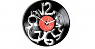 Gramofonska ploča - Zidni sat