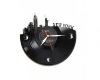 New York, London, Zagreb ili San Francisko - Zidni sat napravljen od gramofonske ploče