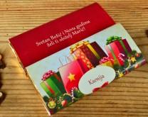 Božićna čarolija - Personalizirana čokolada