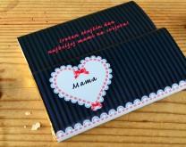 Retro Love - Personalizirana čokolada