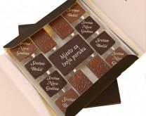 Sweet Xmass - personalizirana bombonjera s Vašom porukom i/ili slikom