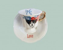 Love - dizajnerska šalica