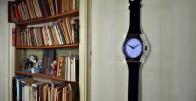 XXL Zidni sat u obliku ručnog sata, 93x19 cm