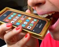 iPhone od čokolade