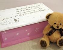 Škrinjica uspomena - personalizirana drvena kutija