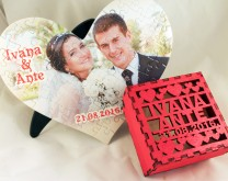The Perfect Match - Puzzle u personaliziranoj drvenoj kutiji