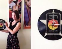 Personalizirani sat od gramofonske ploče s Vašom slikom i/ili tekstom po želji