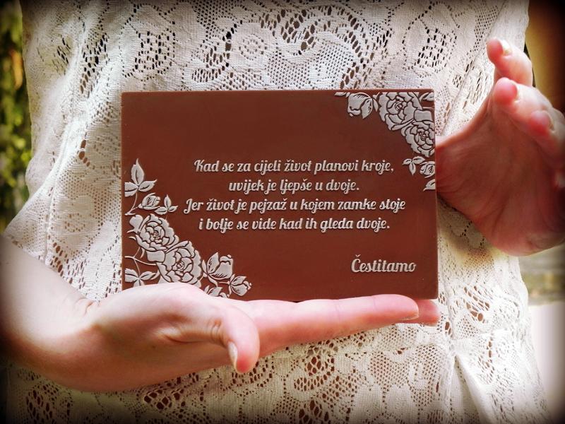 čestitke za vjenčanje poruke Sweet Love   čokoladna čestitka za mladence :: PokloniMe   WOW  čestitke za vjenčanje poruke