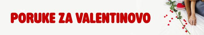 Poruke za Valentinovo